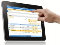 Electronic Health Records on tablet