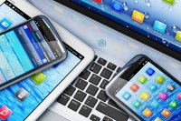 Image of multiple electronic devices