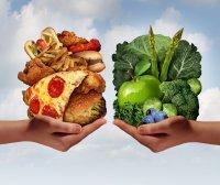 Food choices - unhealthier options versus healthier ones