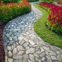 A winding walkway