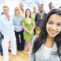 Diverse group of business associates