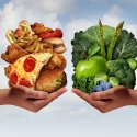 Food choices - unhealthier options versus healthier ones