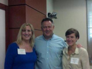Tricia Seymour, Tom Kuhlmann, Allison Kibler