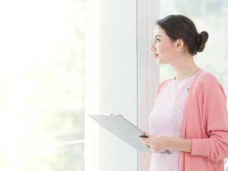Female mental health technician
