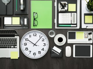 Items to help with time management and productivity