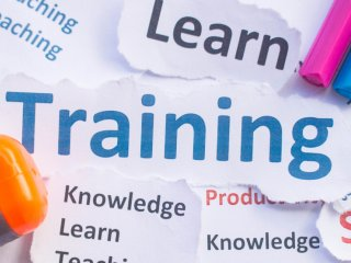 Learning and training graphic
